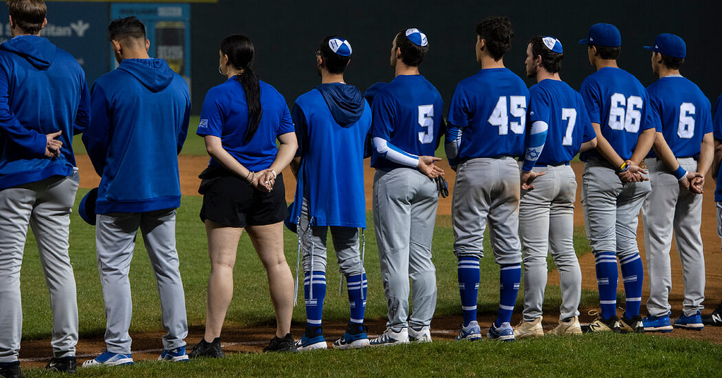 Where are the fans of Israel's national baseball team?  In New York.