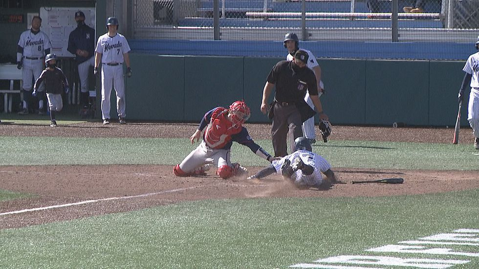 Nevada baseball falls in the series final to Fresno State 8-3