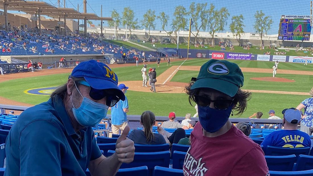 A new season: I sat at a baseball game and saw the promise of a life after Covid (Opinion)