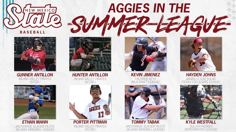 Summer Aggies: NM State Baseball Athletes Continue Summer Ball Action