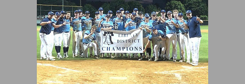 Patriots again at the top of the baseball tournament in the Sports District