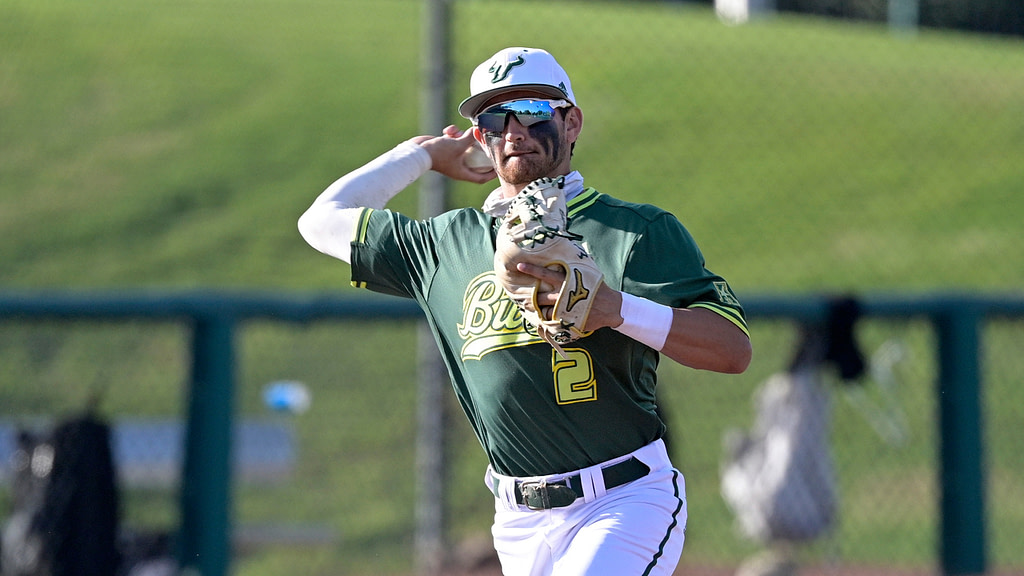'We do not want it any other way': USF baseball ready to roll after rain breaks game on Sunday