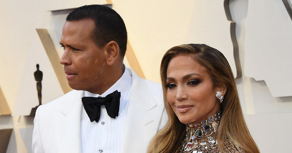 Human beings.  Jennifer Lopez and ex-baseball player Alex Rodriguez, it's over