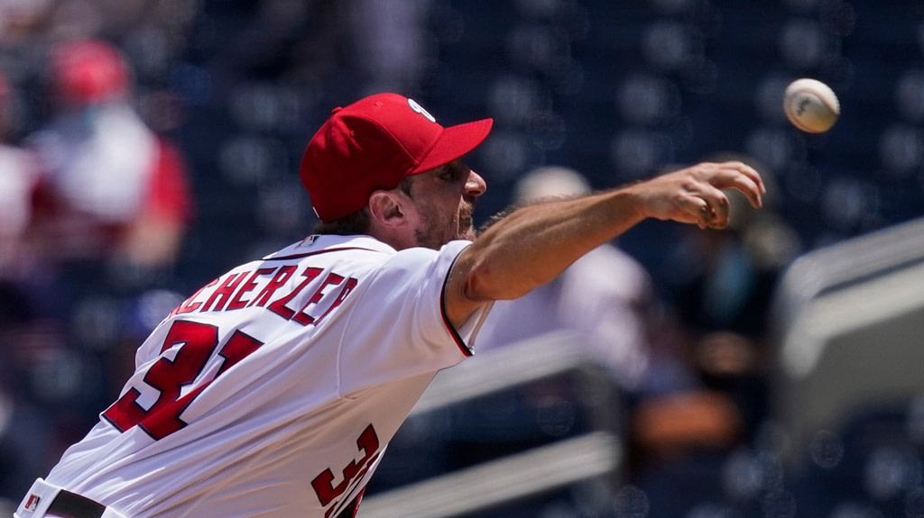 MLB: Max Scherzer throws full match in Nationals victory