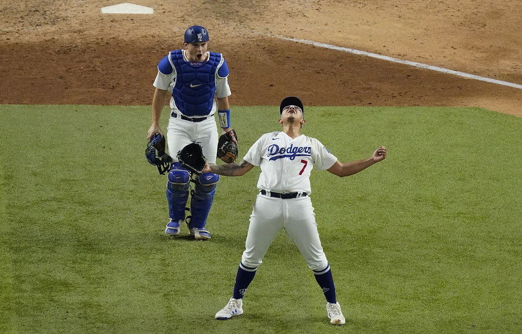 Baseball: The Dodgers advance to the World Series